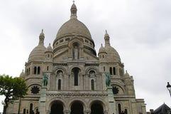 sacre paris montmartre coeur собора Стоковая Фотография