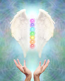Sacred Angel Chakra Healing Royalty Free Stock Image