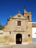 Sacred Art Museum entrance, Osuna, Spain. Entrance to the museum of sacred art, Incarnation Monastery (Monasterio de la Encarnacion), Osuna, Seville Province stock photos