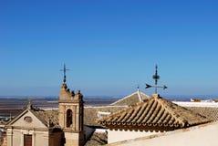 Sacred art museum, Osuna, Spain. Museum of sacred art which was formerly the Incarnation Monastery (Monasterio de la Encarnacion), Osuna, Seville Province stock photography