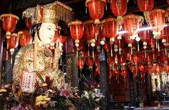 A sacred asian temple in Taiwan royalty free stock photo