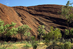 Sacred Ayers Rock 2 Royalty Free Stock Images