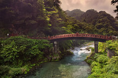 Sacred bridge Shinkyo Royalty Free Stock Photography