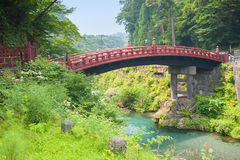 Sacred bridge Shinkyo Stock Photos