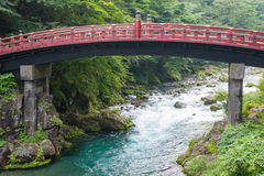 Sacred bridge Shinkyo Stock Images