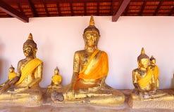 Sacred Buddha images Royalty Free Stock Photos