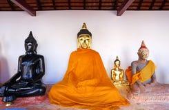 Sacred Buddha images Royalty Free Stock Photo