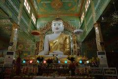 Sacred Buddha statues of Myanmar Royalty Free Stock Photography