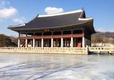 Sacred Building at Changdeokgung Park Stock Image