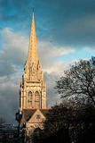 Sacred Cathedral. One cathedral in Cambridge City royalty free stock photography