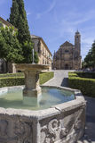 The Sacred Chapel of El Salvador,Ubeda, Spain Stock Photography