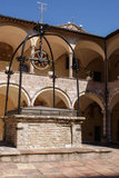 The sacred convent assisi Royalty Free Stock Photography