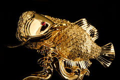 Sacred fish object is God of rich and money for Chinese. Royalty Free Stock Photo