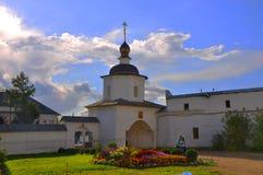 Sacred gate in Kremlin in Rostov The Great Stock Photo