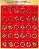 Sacred Geomertry stock illustration