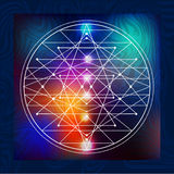 Sacred Geometry 6 vector illustration