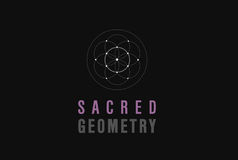 SACRED GEOMETRY. On the air Stock Photo