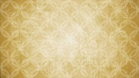 Sacred geometry circle stamp pattern shape on wall pattern texture. royalty free stock image