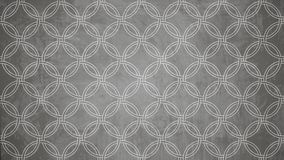 Sacred geometry circle stamp pattern shape on wall pattern texture. stock photos