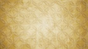 Sacred geometry circle stamp pattern shape on wall pattern textu. Re Royalty Free Stock Image