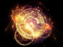 Sacred Geometry Composition Royalty Free Stock Photo