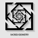 Sacred geometry element Stock Photo