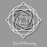 Sacred geometry element Royalty Free Stock Images