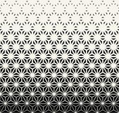 Sacred geometry halftone triangle graphic pattern. Print royalty free illustration