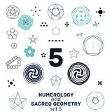 Sacred geometry Stock Photography