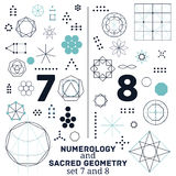 Sacred geometry Royalty Free Stock Photos