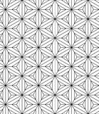 Sacred geometry pattern seamless Royalty Free Stock Photography