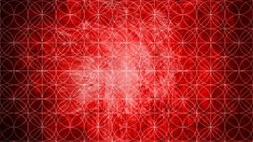 Sacred geometry in pattern shape on old paper texture re royalty free illustration