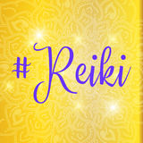 Sacred geometry. Reiki symbol. The word Reiki is made up of two Japanese words Stock Photo