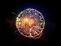 Sacred Geometry Synergy Stock Photos