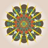 Geometrical design with sacral sense Stock Photos