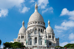 Sacred Heart Basilica of Montmartre Royalty Free Stock Photography