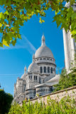 Sacred Heart Basilica, Montmartre, P Royalty Free Stock Image
