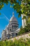 Sacred Heart Basilica, Montmartre, P Stock Photos