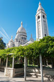 Sacred Heart Basilica, Montmartre, P Royalty Free Stock Images