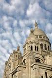 Sacred Heart basilica towers Stock Image