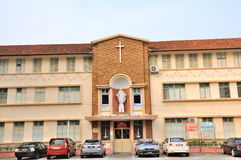 Sacred Heart Canossion Convent in Melaka. The historical city centre of Melaka has been listed as a UNESCO World Heritage Site since 7 July 2008 Stock Photos