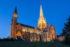 Sacred Heart Cathedral in Bendigo Royalty Free Stock Photo