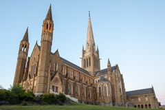 Sacred Heart Cathedral in Bendigo Stock Photography