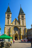 Sacred Heart Cathedral, Sarajevo Royalty Free Stock Photo