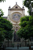Sacred Heart catholic cathedral in the Guanzhou China Royalty Free Stock Images