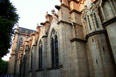 Sacred Heart catholic cathedral in the Guanzhou China Stock Images