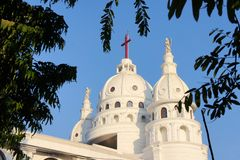 Sacred Heart Catholic Church Chennai, Tamil Nadu Royalty Free Stock Photography