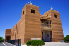 Sacred Heart Catholic Church Nambe Pueblo Royalty Free Stock Image