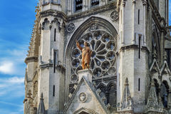 Sacred Heart church in Lille Royalty Free Stock Image