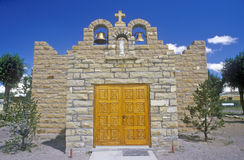 Sacred Heart Church and Mission, Quemado, NM Stock Images